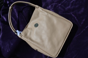 Bolvaint Paris Ines Shoulder Bag in Sable Beige Valued at $2,800