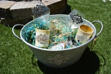 Bling Basket will include a Bottle of Wine